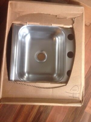 ELKAY KINGSFORD K115153 Dayton Stainless Steel Single Bowl Sink
