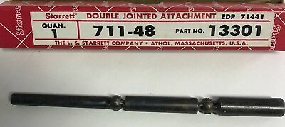 Starrett PT13301 Double Jointed Attachment for Last Word Dial Test Indicators