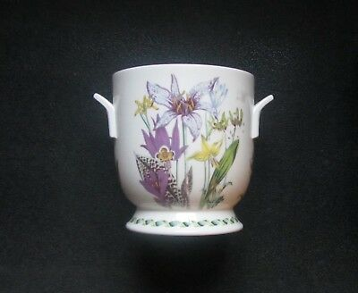 Retired Ladies Flower Garden Vase From Portmeirion Pottery
