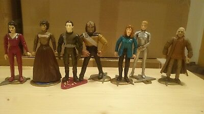 Star Trek Playmates 13 x Figuren komplett