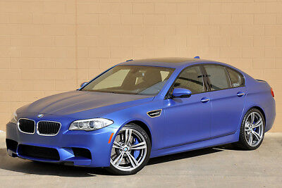 2013 BMW M5 Rare Matte Blue B&O Sound 2013 BMW M5 Sedan Rare Factory Frost Blue! Low Miles! Loaded!