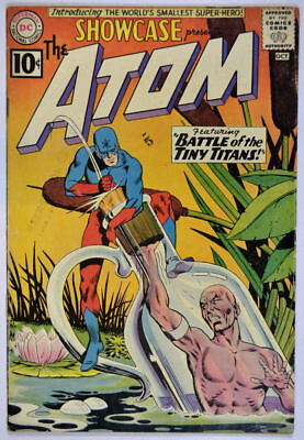 SHOWCASE #34 Origin / 1st App of Silver Age ATOM 1961 Gil Kane Murphy Anderson