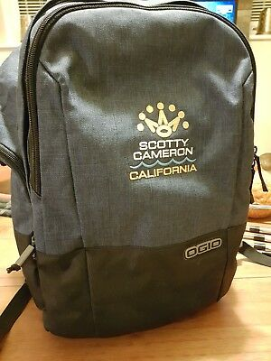 Scotty Cameron Club California Backpack Ogio Brand New **SOLDOUT**RARE** M1 M2