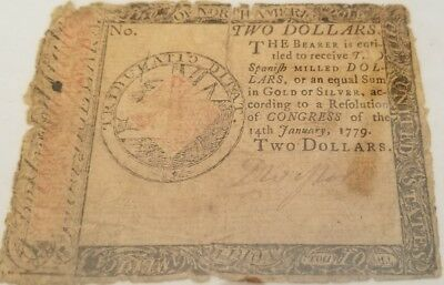 colonial $2. 1779