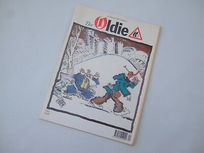 Oldie Magazine First edition humour private eye funny 1st edition