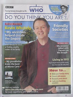 Who Do You Think You Are Magazine   Issue 20   April 2009  Kevin Whately