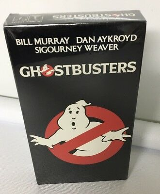 Ghostbusters NEW SEALED VHS Tape Murray Weaver 1994 Who You Gonna Call
