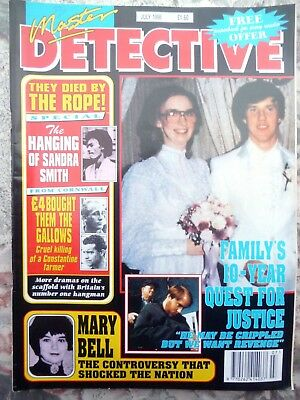 Master Detective Magazine. July 1998. 51 Pages Of True Stories. Good Condition.
