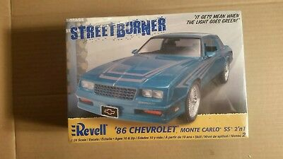 Revell Streetburner 86 Chevrolet Monte Carlo SS 2 in 1 Factory sealed