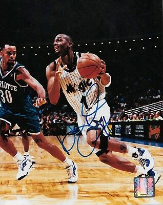 Anfernee Penny Hardaway  - Magic  - AUTO OC -  8x10 Picture NBA Authenticated