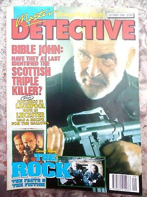 Master Detective Magazine. September 1996 51 Pages True Stories. Good Condition.