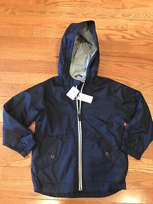 New With Tags Boys Gap Jacket Coat Size: 5T Navy Blue Msrp: $29.95