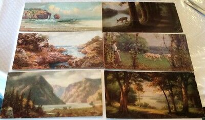 1920-21 Art Gems Calendar Cards (8) Compliment Sergeant Motor Ford Rochester NY
