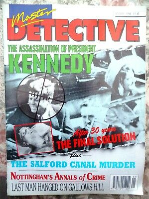 Master Detective Magazine. January 1994. 51 Pages True Stories. Good Condition.