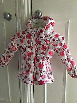 Girls Trespass WinterJacket coat 18-24 months