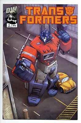 Transformers Generation 1 #1 (2nd Printing Cover) (2002) (NM) Dreamwave