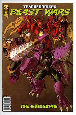 Transformers Beast Wars The Gathering #1 Cover B (2006) (NM) IDW
