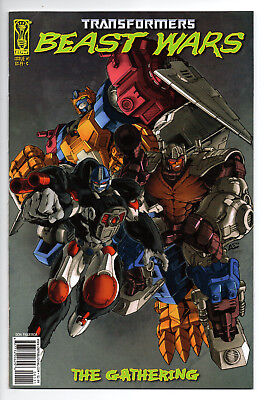 Transformers Beast Wars The Gathering #1 Cover C (2006) (NM) IDW