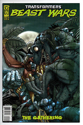 Transformers Beast Wars The Gathering #2 Cover B (2006) (NM)