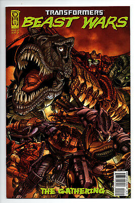 Transformers Beast Wars The Gathering #2 Cover D (2006) (NM)
