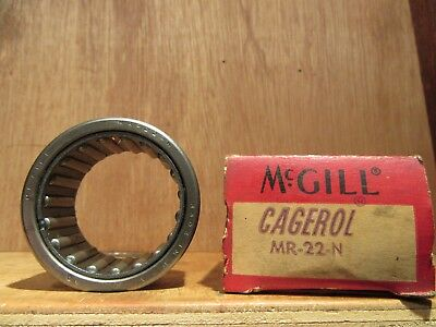 McGill MR-- 22N  Cagerol PRECISION BEARINGS  NEW OLD STOCK