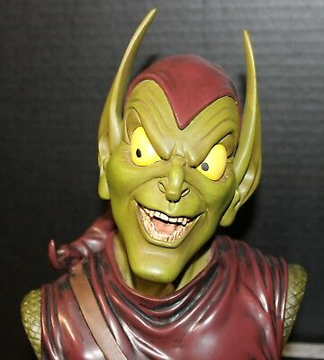 GREEN GOBLIN Statue Bust by Legends in 3Dimensions Marvel Comics SPIDER-MAN cgc