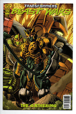 Transformers Beast Wars The Gathering #3 Cover D (2006) (NM)