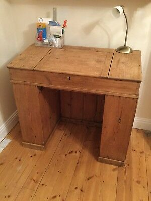 Desk Draughtsman Pine Study Office Table