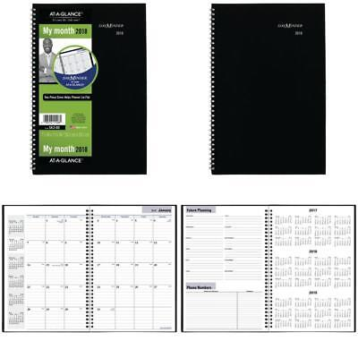 at a glance dayminder monthly planner 2018 december 2017 january 2019