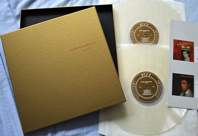 SERGE GAINSBOURG 1 2 3 4, Box Set 2LP + Booklet, Audiophile Clear Vinyl 2014