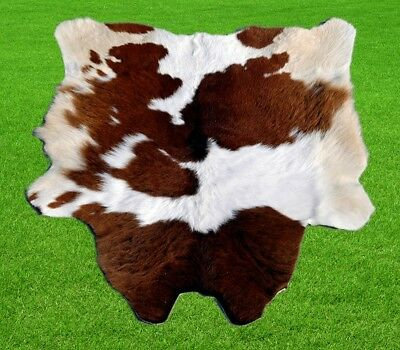 """New Calfhide Rugs Area Calf Skin Leather 4.67 sq.feet (28""""x24"""") Cow hide A-615"""