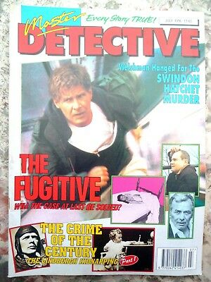 Master Detective Magazine. July 1996. 51 Pages True Stories. Good Condition.