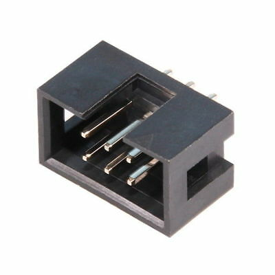IDC 6-pin Mounting Plug for Connector Ribbon Flat Cable IDC6 Male