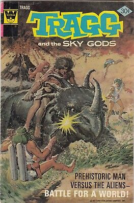 Tragg and the Sky Gods #7 (Whitman-1976) FN - combine ship-