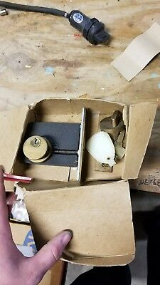 Antique Vintage Sargent Mortise Deadlock & Keso Mortise Cylinder