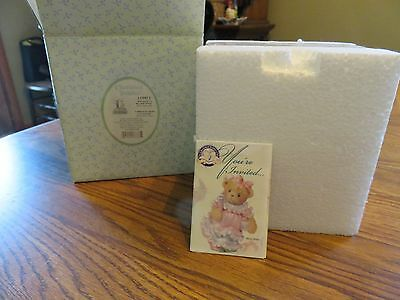 2004 Cherished Teddies Halloween 's a Boo-tiful Thing Avon Exclusive New Motion