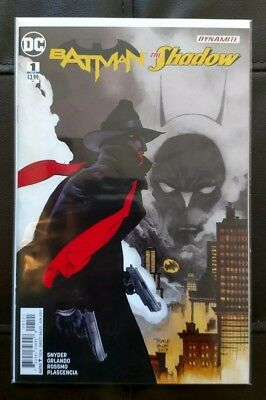 Batman The Shadow #1 Variant Tim Sale DC Comics Dynamite Mint