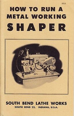 How To Run A Metal Working Shaper 5213   Volume 1