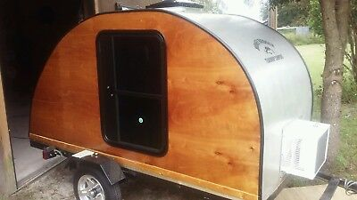 Honeybadger Teardrop Camper - Garage Kept - Used Once - w/ Spare Tire and More