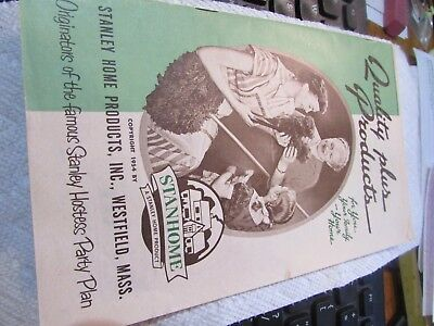 STANLEY Home Products original 1954 Products catalog