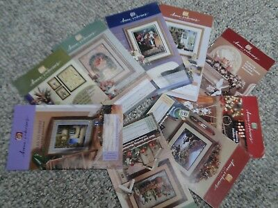 VTG HOMCO HOME INTERIORS LOT 9 CATALOGS SALES BROCHURES 2000 various months
