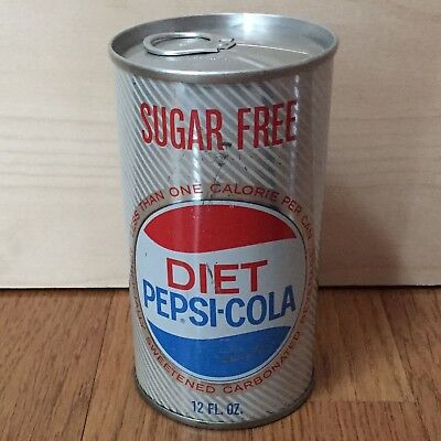 Very Early Diet Pepsi Can Circa 1960s Rare Not Double Dot Good Shape