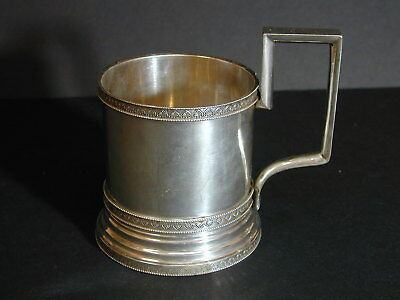 Russian Sterling Tea Cup - No Reserve