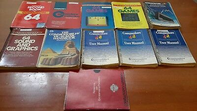 Bulk Lot Commodore 64 Manuals & Programmer/Game Guides