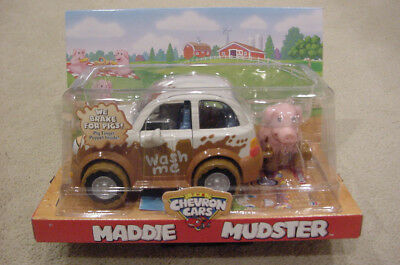 Chevron Cars, MADDIE MUDSTER, 2004, New in original, unopened package.