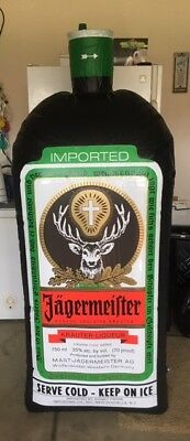 6 Foot Jagermeister Inflatable Bottle Brand New Vinyl bar room collectible