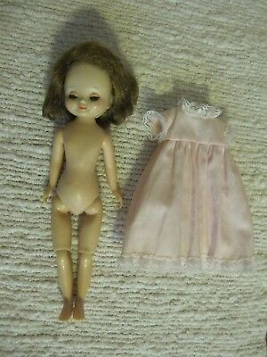 """Vintage Character Betsy McCall Doll 8"""", Jointed Knees, Sleep Eyes"""