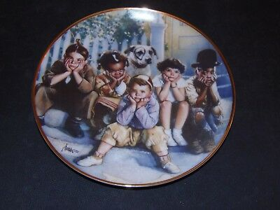 The Little Rascals Collector Plate The Franklin Mint THE LITTLE RASCALS Struzan