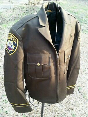 VTG SAN FRANCISCO SHERIFF'S DEPT Uniform Jacket Custom sized (M-L) no size tag