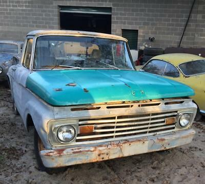 1962 Ford F-100  1962 ford step side short bed f100
